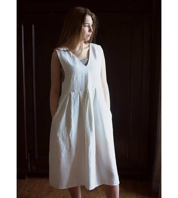 Lemuel MC - Linen Summer Dress at Amberoot (1)
