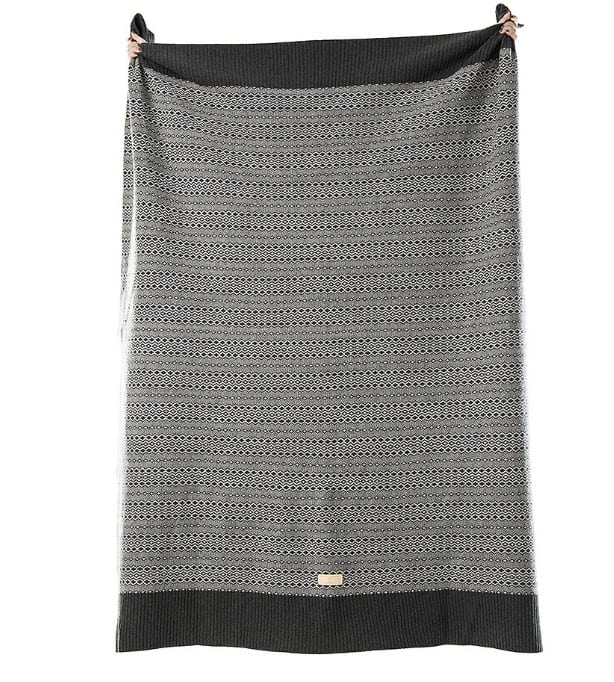 MLH - Jacquard Wool Throw at Amberoot (4)