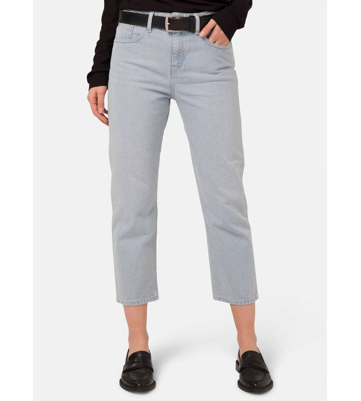 Cropped Mimi Organic & Recycled Cotton Jeans