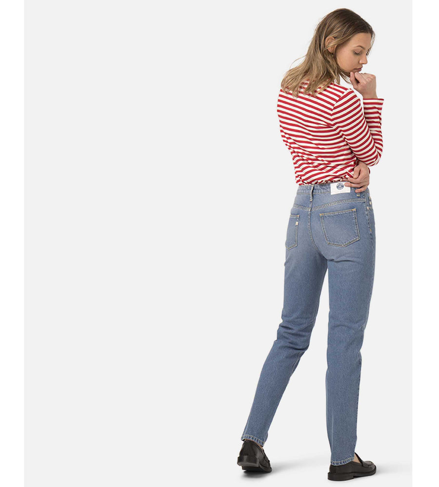 Straight Mimi Organic & Recycled Cotton Jeans