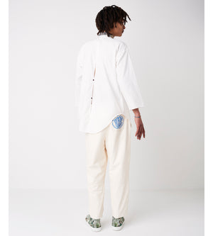 Silvia Giovanardi - Hand Embroidered Organic Shirt at Amberoot (5)