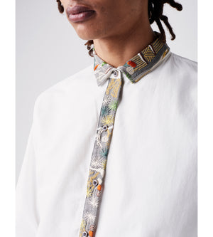 Silvia Giovanardi - Hand Embroidered Organic Shirt at Amberoot (6)