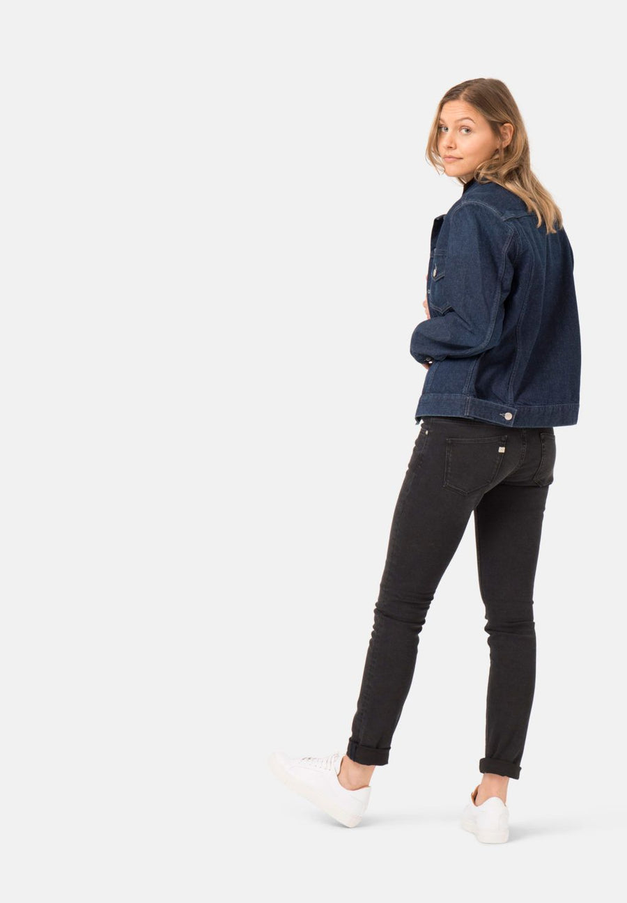 Skinny Lilly Black Range Organic & Recycled Cotton Jeans