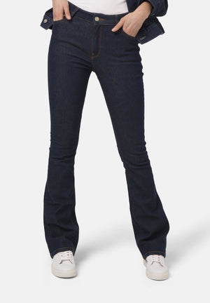 Flared Hazen Organic & Recycled Cotton Jeans