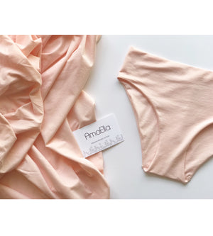 AmaElla - Pink Blush Wireless Triangle Bra at Amberoot (15)