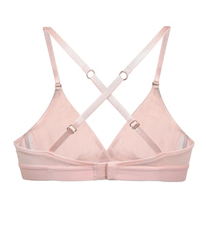 AmaElla - Pink Blush Wireless Triangle Bra at Amberoot (7)