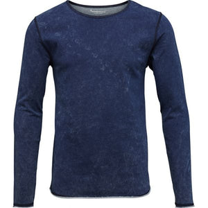 KnowledgeCotton Apparel - Indigo Organic Cotton Sweatshirt at Amberoot (1)
