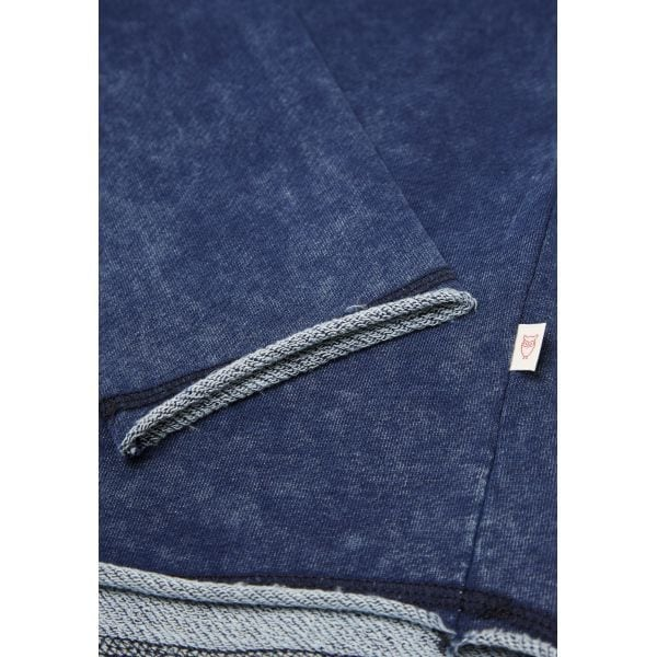 KnowledgeCotton Apparel - Indigo Organic Cotton Sweatshirt at Amberoot (3)