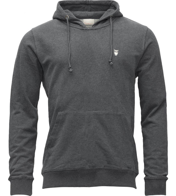 KnowledgeCotton Apparel - Organic Cotton Hooded Jumper at Amberoot (3)