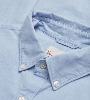 KnowledgeCotton Apparel - Organic Cotton Timeless Shirt at Amberoot (11)