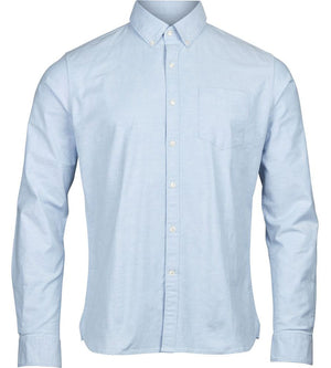 KnowledgeCotton Apparel - Organic Cotton Timeless Shirt at Amberoot (1)