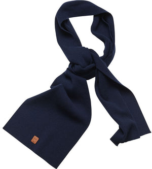 KnowledgeCotton Apparel - Organic Wool Solid Colour Scarf at Amberoot (1)