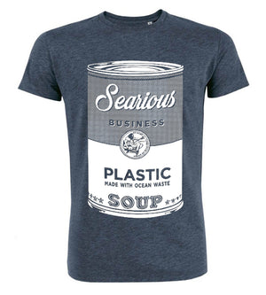 Searious Business - Men T-Shirt - Plastic Soup at Amberoot