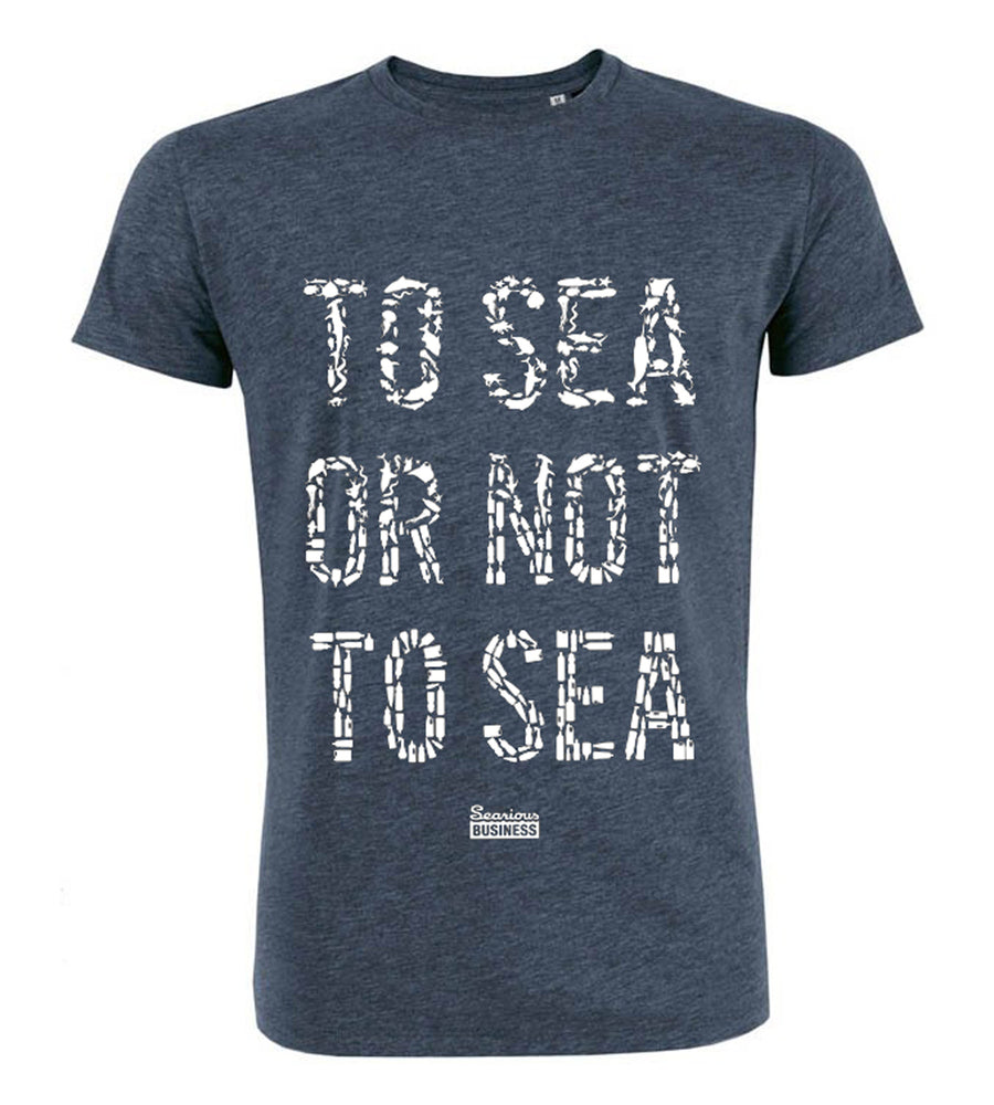 Searious Business - Men T-Shirt - To Sea Or Not To Sea at Amberoot
