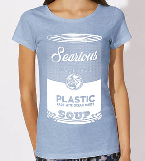 Searious Business - Women T-Shirt - Plastic Soup at Amberoot
