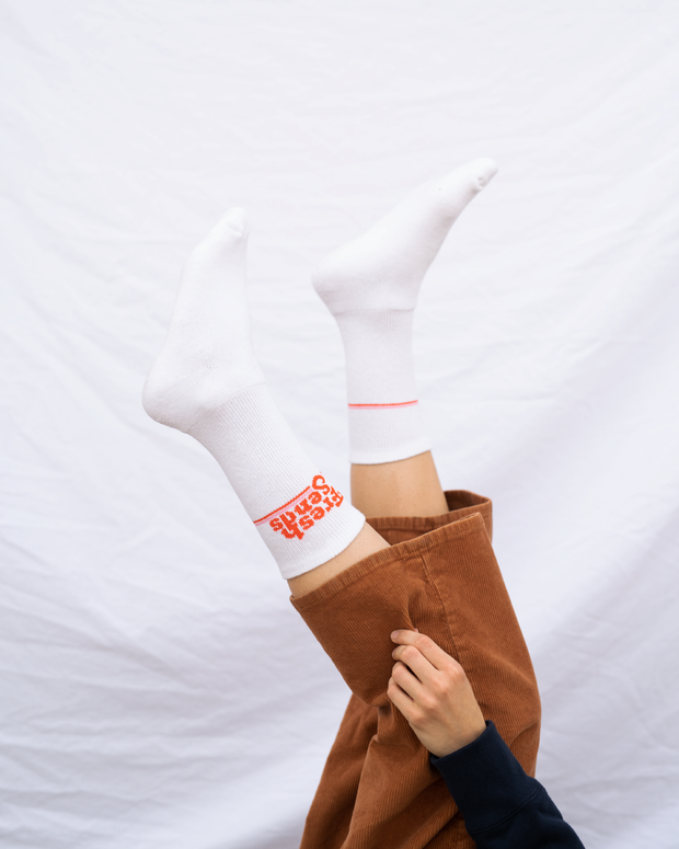 Fresh Sends Logo Socks