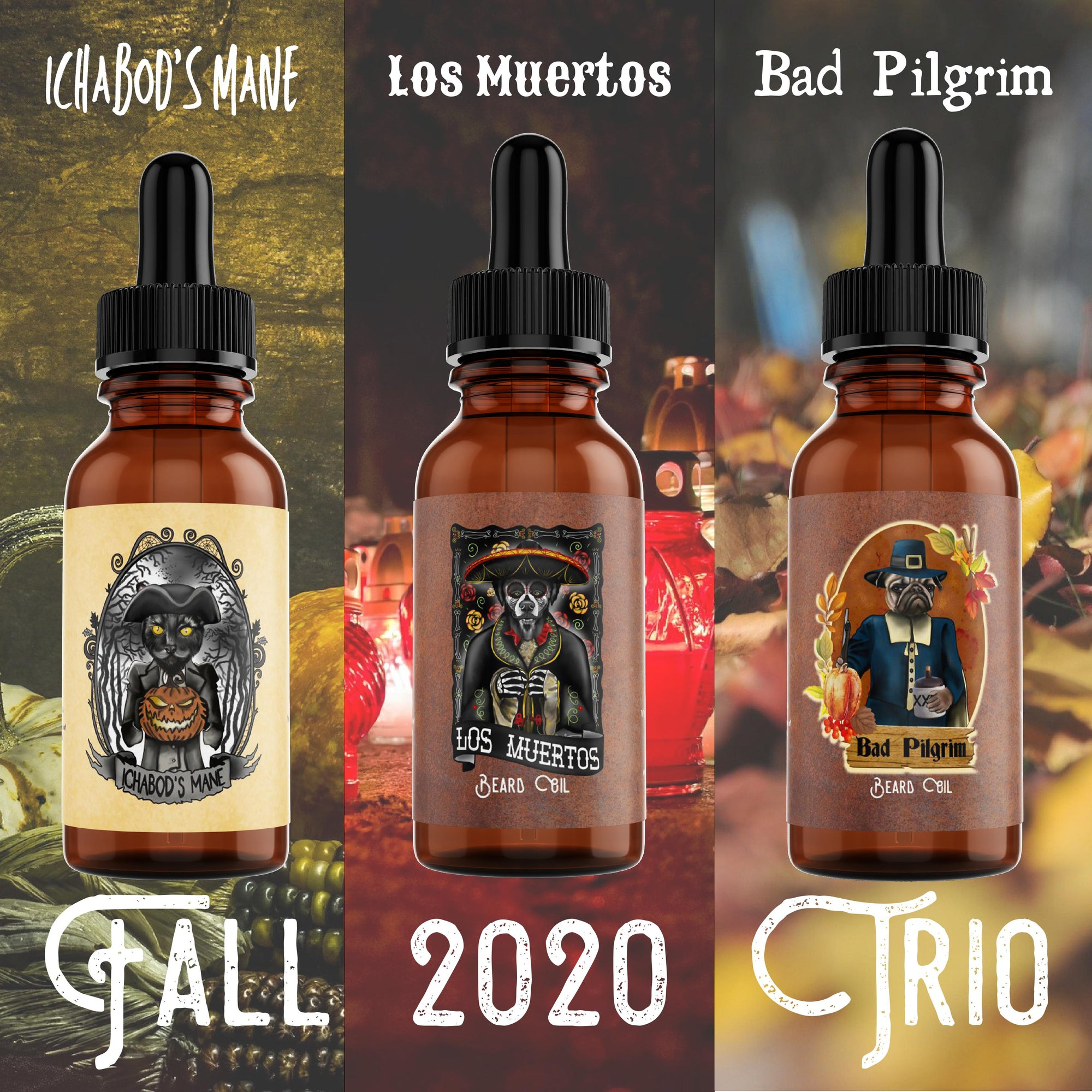 Fall 2020 Oil Flight Trio