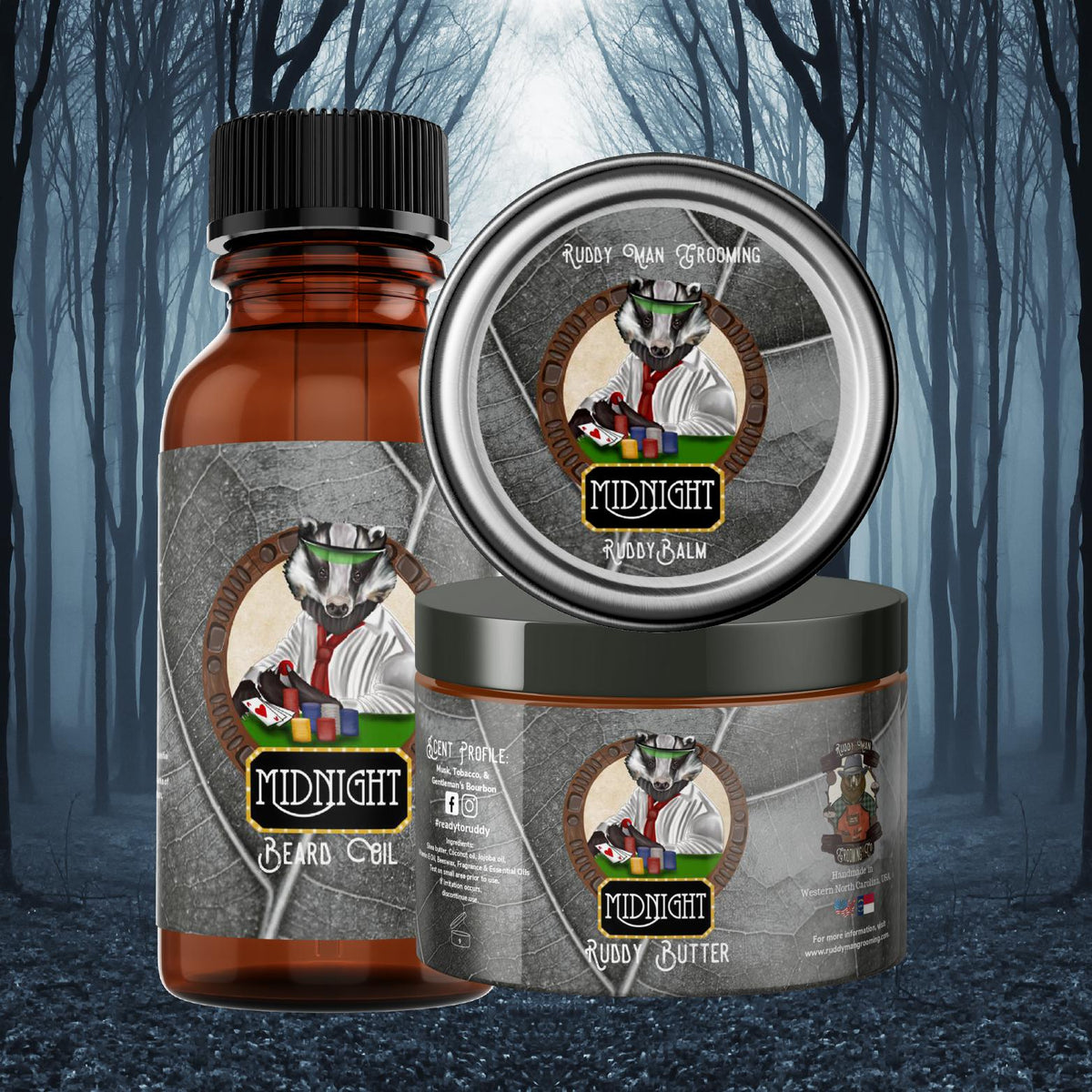 Prized Pie-A Warm Blackberry Pie Beard Oil/Ruddy Butter Duo
