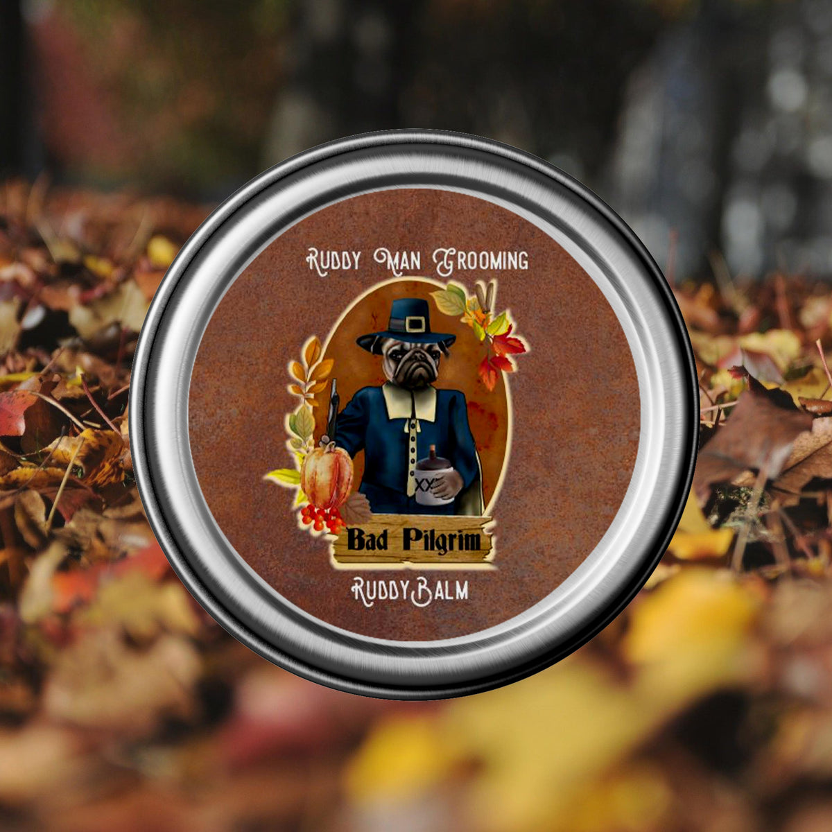 Bad Pilgrim-A Thanksgiving Beard  Balm