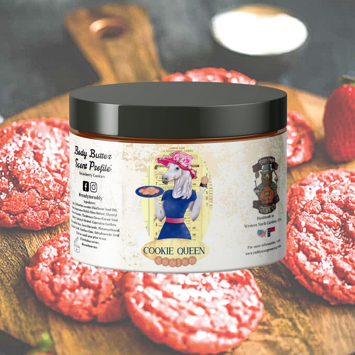 Cookie Queen-A Strawberry Cookie Body Butter
