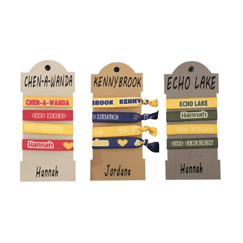 Hair Ties-Personalized