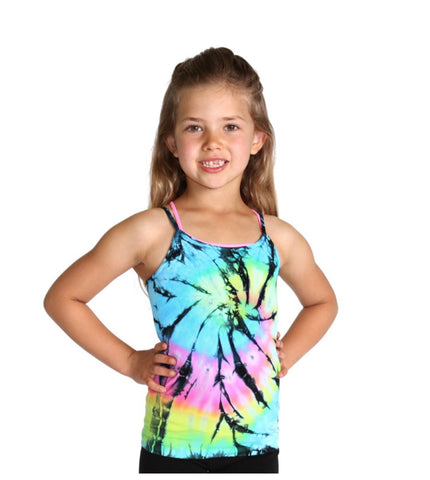 Little Girl Tie Dye Cami