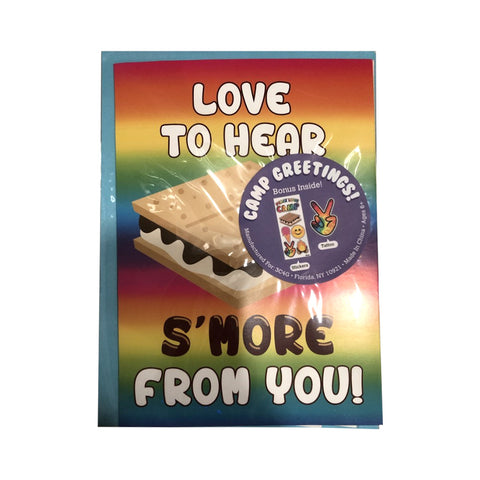Love to Hear Smore From you Card
