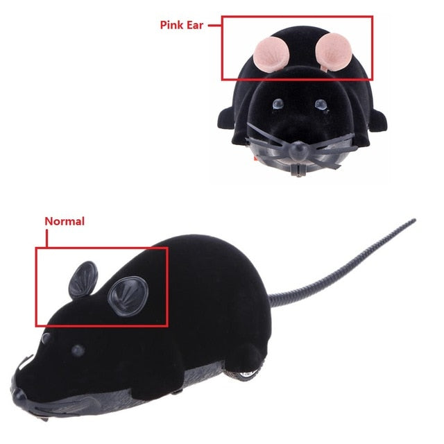 Mouse Toys Wireless RC Mice Cat Toys Remote Control False Mouse Novelty RC Cat Funny Playing Mouse Toys For Cats - DESI PANDA