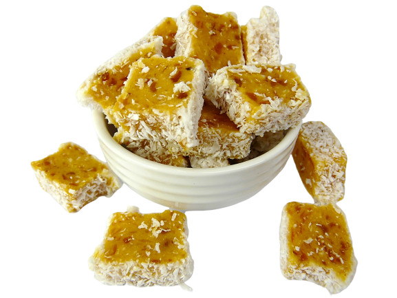 Apricot Coconut Slice - Sale Ends 30/4/2020