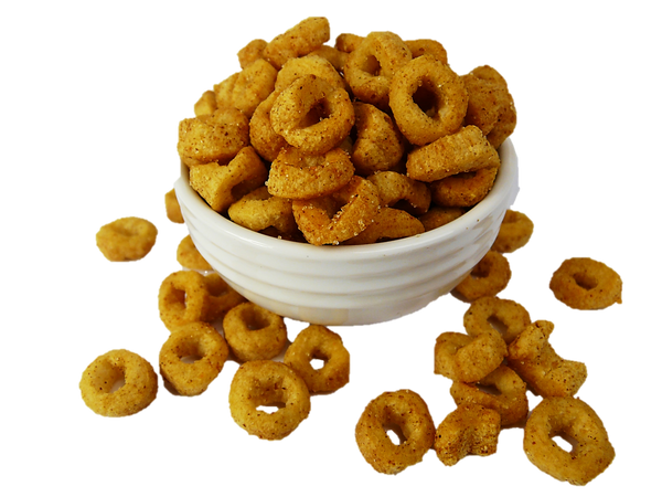 Chickpea Rings Hot & Spicy 100g
