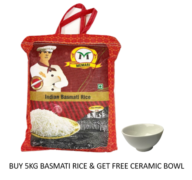 Indian Basmati Rice [New Line - Introductory Price]