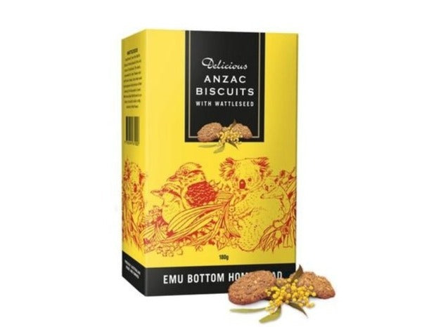 Australian Anzac Biscuits with Wattleseed