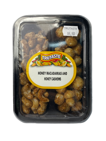Honey Macadamias & Honey Cashews