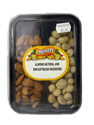 Almond Natural & Raw Macadamia