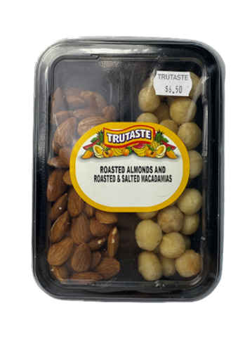 Roasted Almonds & Roasted Salted Macadamia