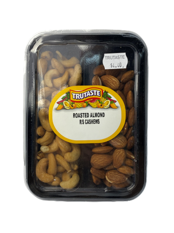 Roasted Almonds & Roasted and Salted Cashews