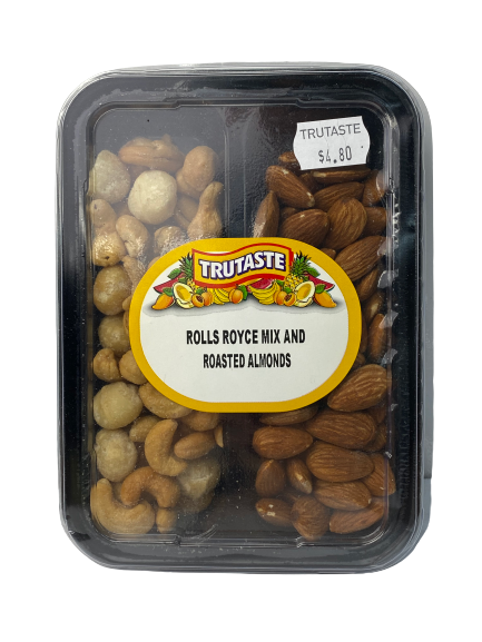 Rolls Royce Mix & Roasted Almonds