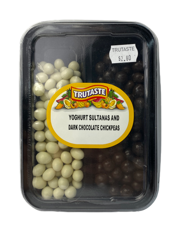 Yoghurt Sultanas & Dark Chocolate Chickpeas
