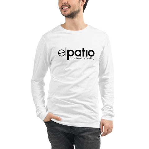 el patio - Camiseta manga larga unisex