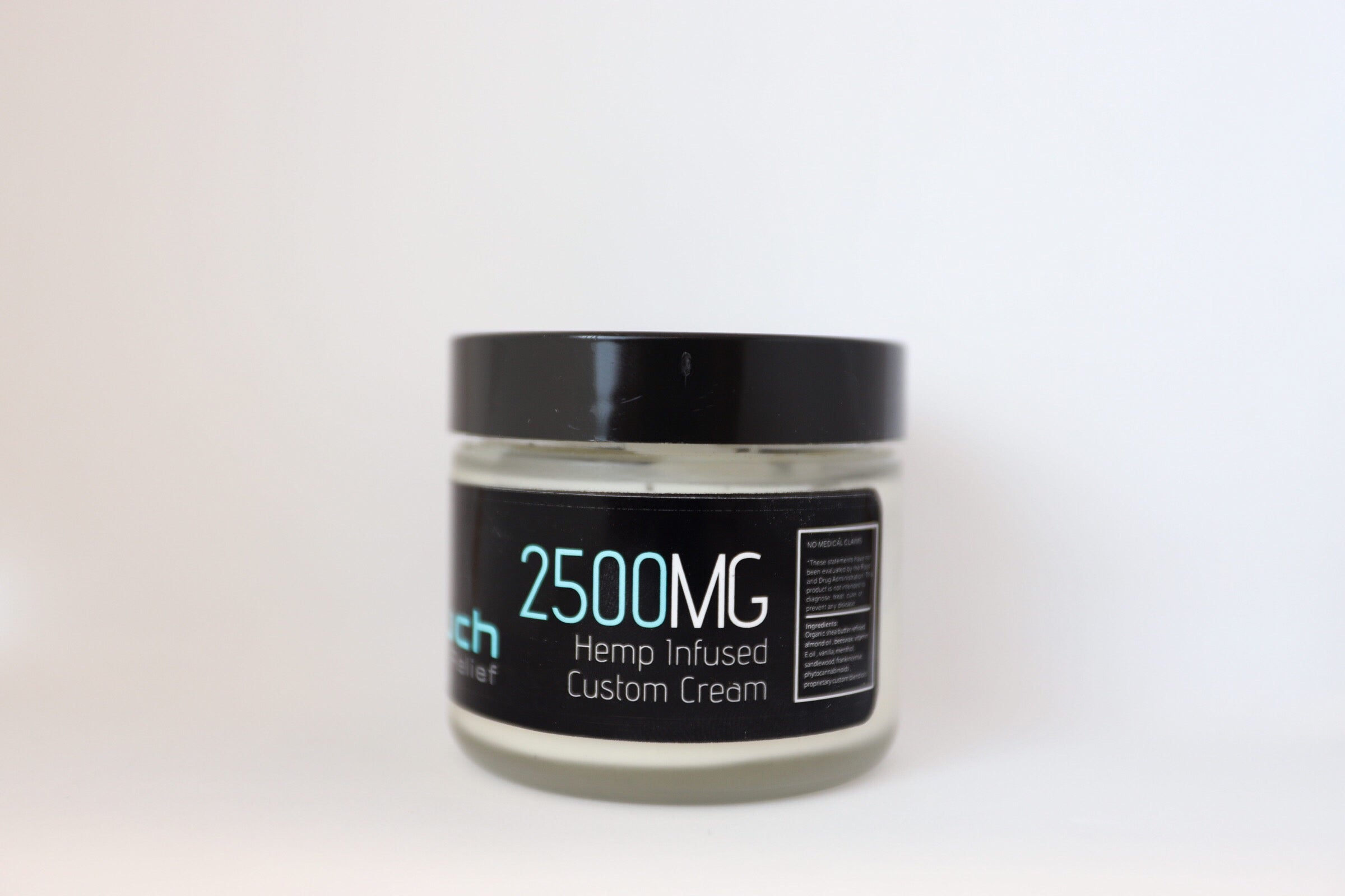 2500mg 2oz CBD topical cream