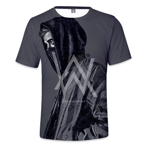 Alan Walker 3D Tees