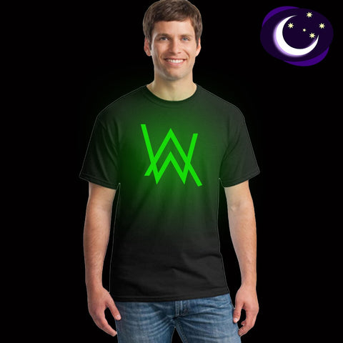 Fluorescent Alan Walker Tees