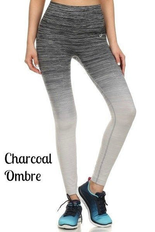 Ombre Active Wear Leggings