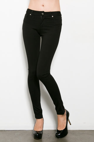 Luxe Solid Jeggings- 2 Color Options