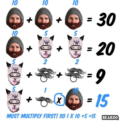Beardo Math Teaser Answer