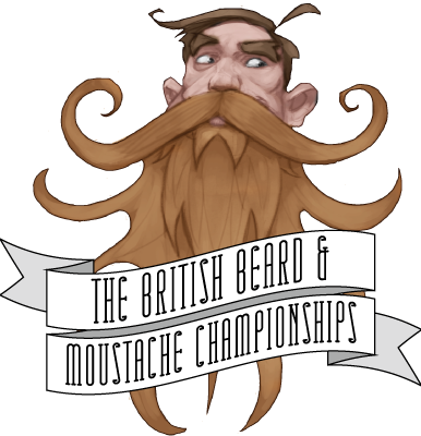 beard contest logo