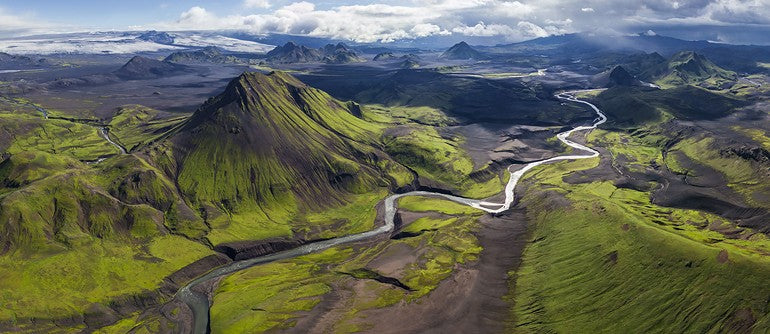 iceland mountains travel