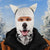 husky dog ski mask