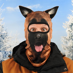 German Shepherd Ski mask