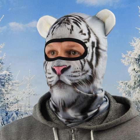Snow Tiger Ski Mask